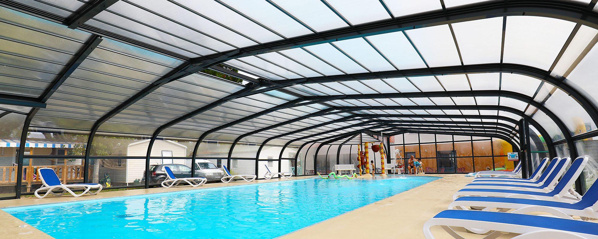 piscine couverte camping saint gilles croix de vie