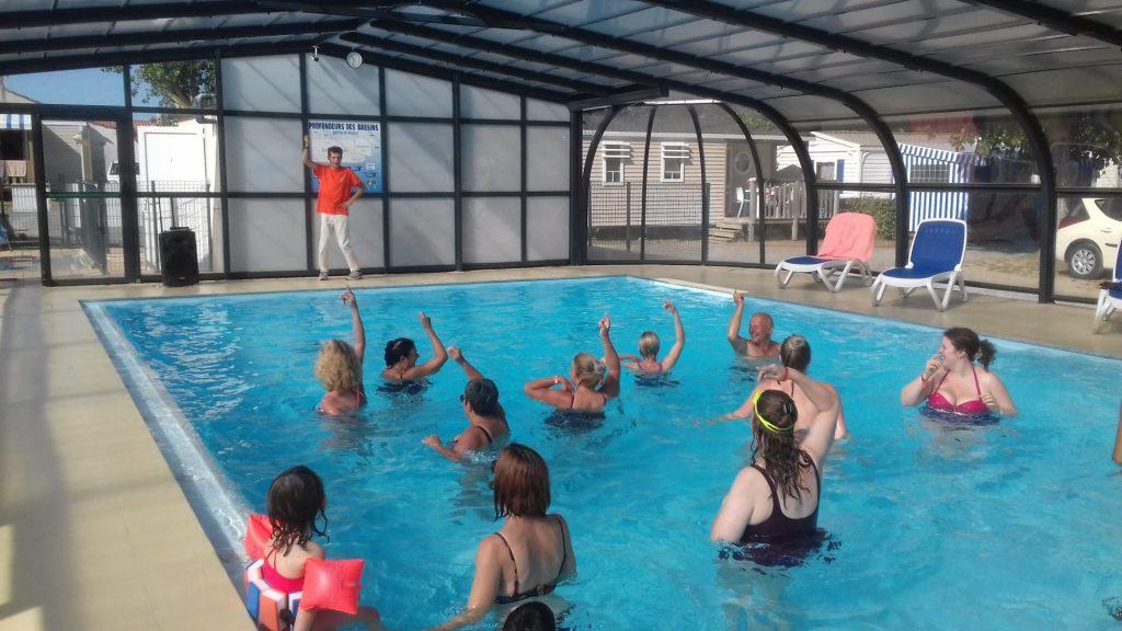 animation piscine camping saint gilles croix de vie