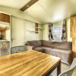 Location Lodge Résidentiel camping Vendée : salon