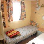 camping saint gilles croix de vie location mobilhome confort : chambre 2