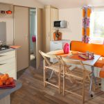location-mobilhome confort-famille camping vendée : cuisine