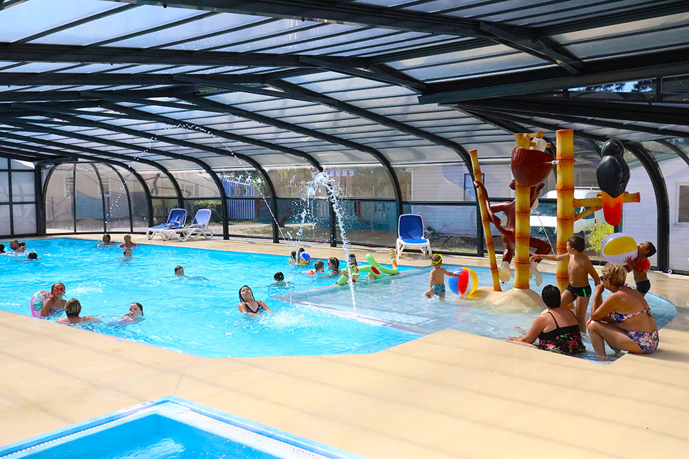 piscine camping domaine oyat