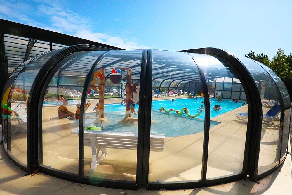 piscine chauffée couverte Saint-Gilles-Croix-de-Vie
