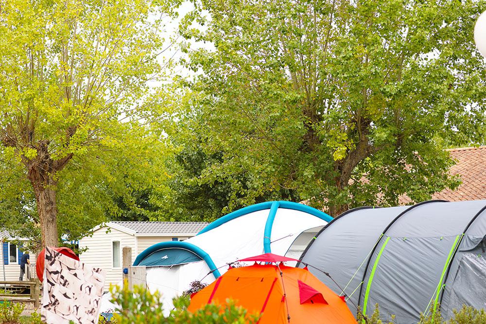 emplacements de tente domaine oyat