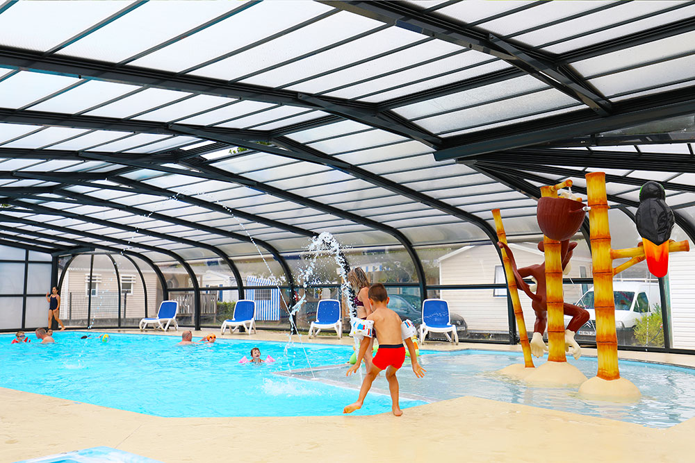 piscine camping domaine oyat